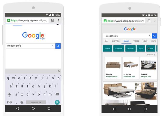 Google platziert Werbung in der Bildersuche