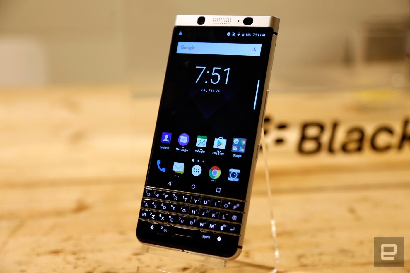 BlackBerry vuelve mejor que nunca con KEYone: Android y teclado físico en tu mano