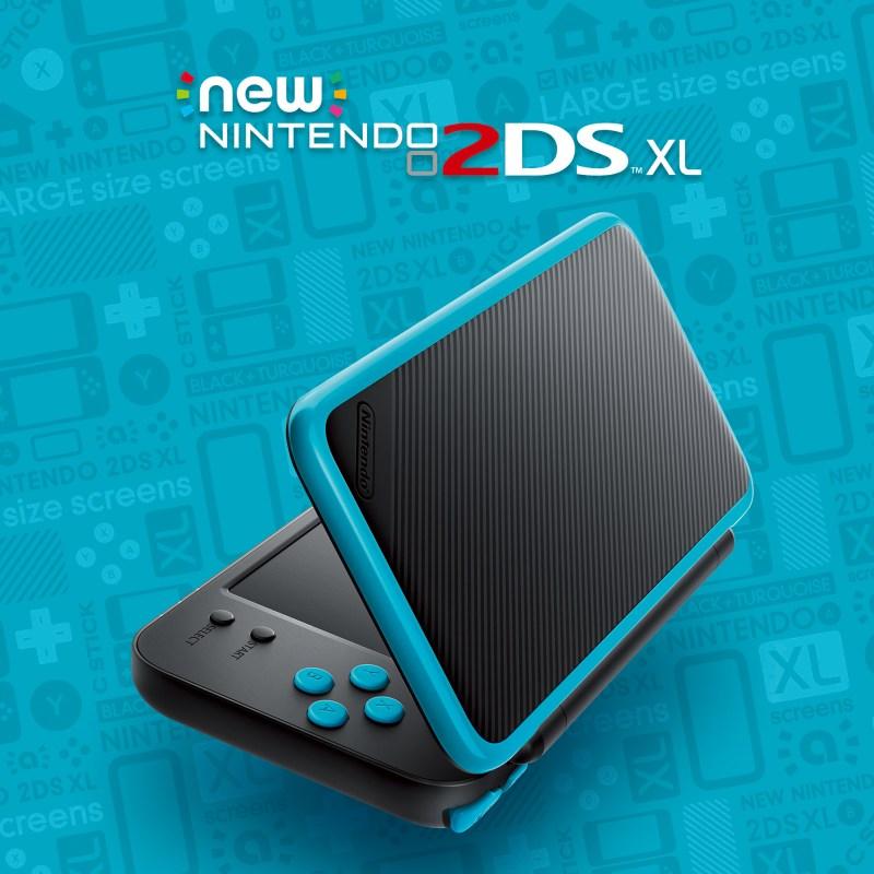 Blue/black 2DS XL