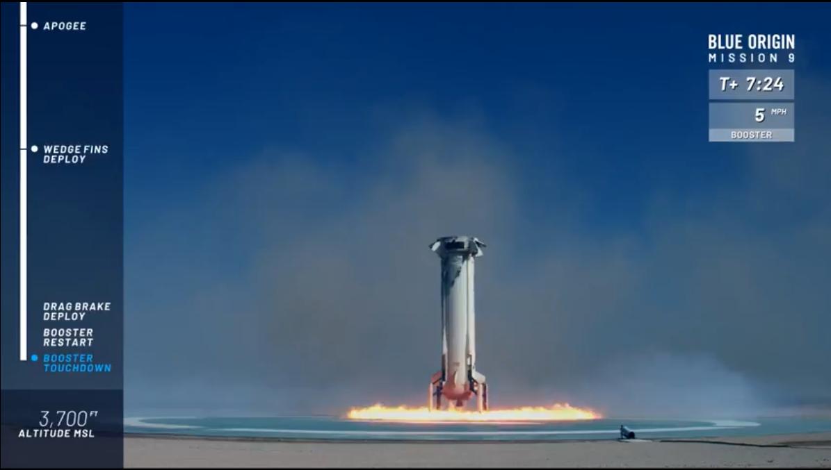 アマゾンCEOジェフ・ベゾスの宇宙旅行会社Blue Origin、宇宙船の高高度 ...