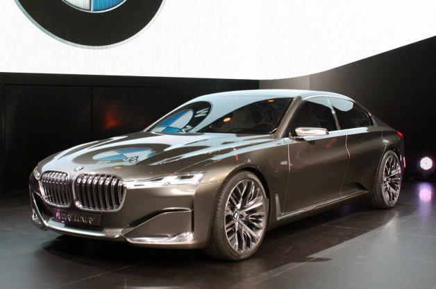 【北京モーターショー2014】BMWが最高級セダンのコンセプトカーをお披露目