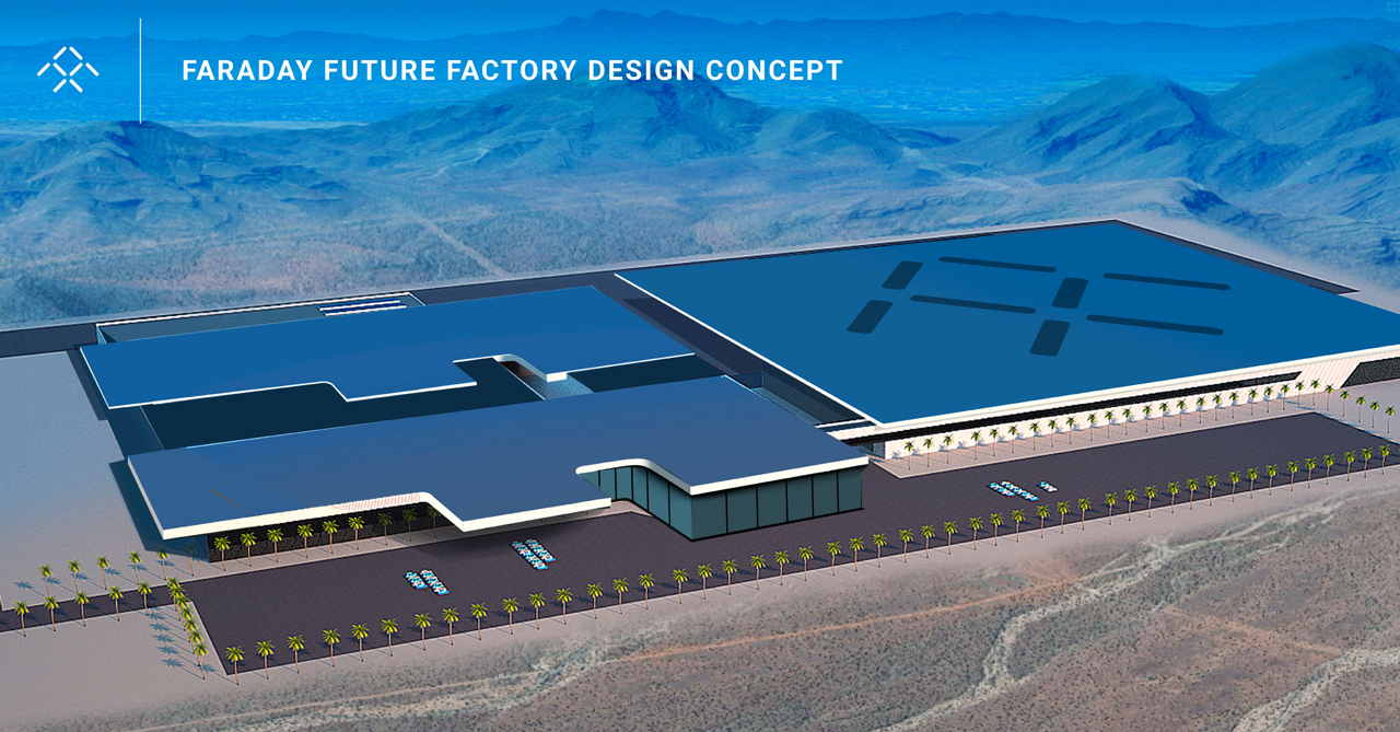 Faraday Future will build its Tesla-fighting EV in Nevada