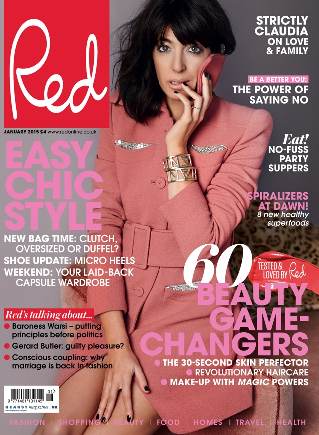 Claudia Winkleman covers Red magazine, talks love, life and Strictly
