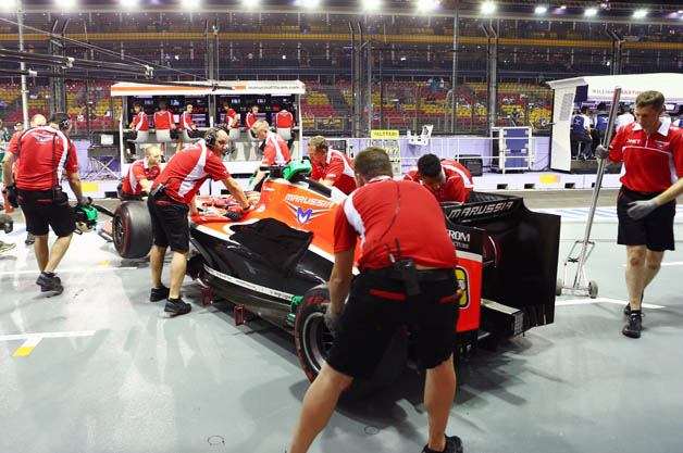 Marussia F1 Team at 2014 Singapore Grand Prix