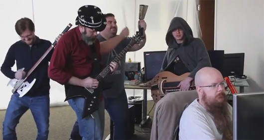 Camelot Unchained devs play music, talk audio stretch goal