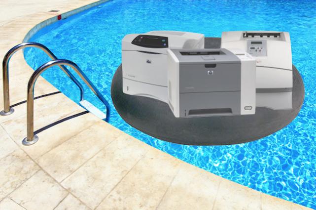 Printer pool