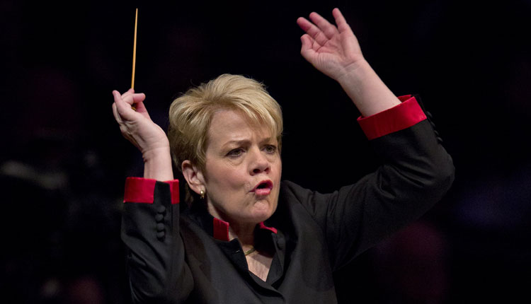 Marin Alsop/JUSTIN TALLIS/AFP/Getty Images