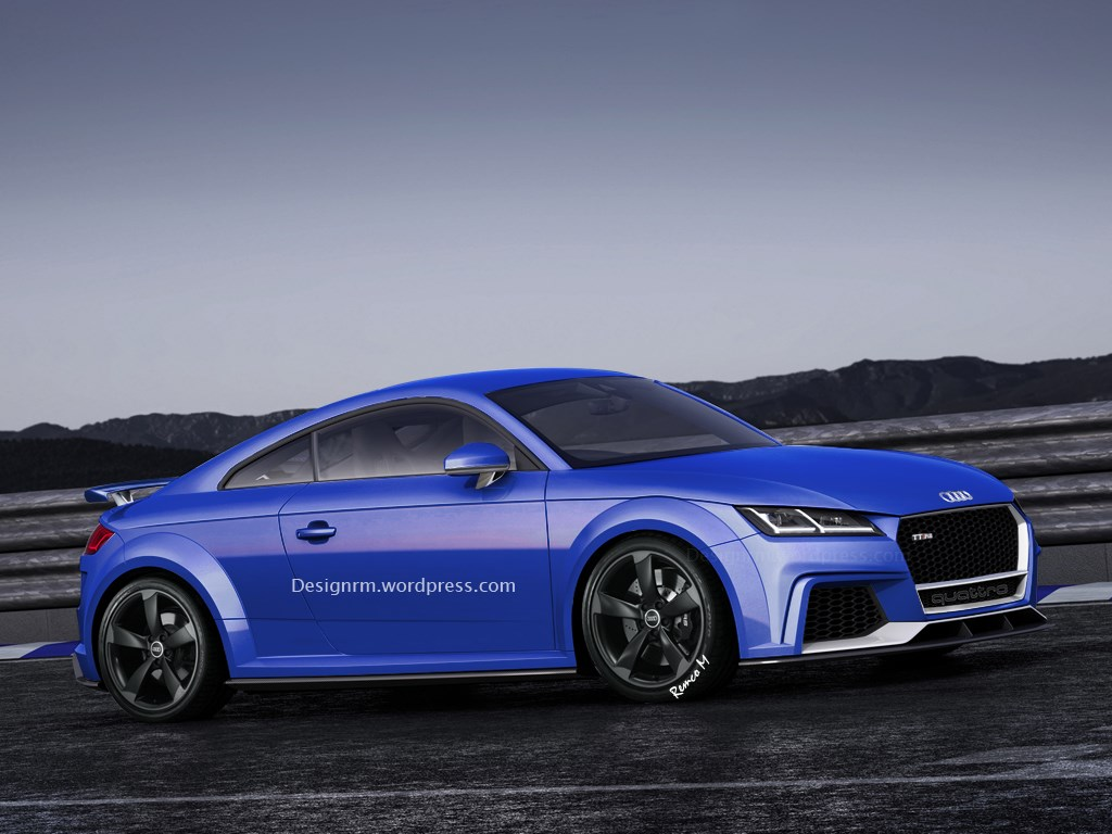 Audi, Audi RS, Audi TT, Audi TT RS, Coupé, Illustration, Impression, new Audi TT, Rendering, Roadster, RS, TT, TT RS, Audi von morgen, autos von morgen, photoshop, grafik, bilder, fotos, pics, 8s, Audi TT RS 2015