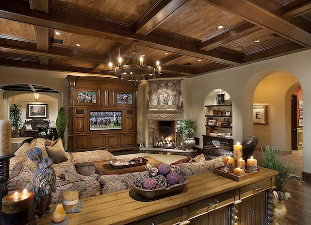 randy johnson's family room
