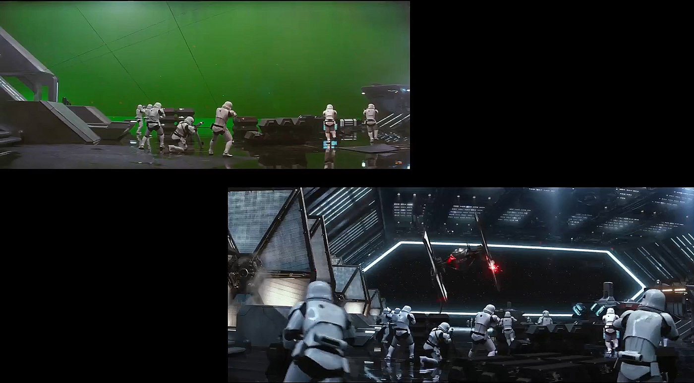 See how VFX transforms 'Star Wars: The Force Awakens'