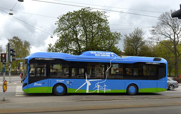 Volvo Hyper Bus, testing the viability of electric roads.