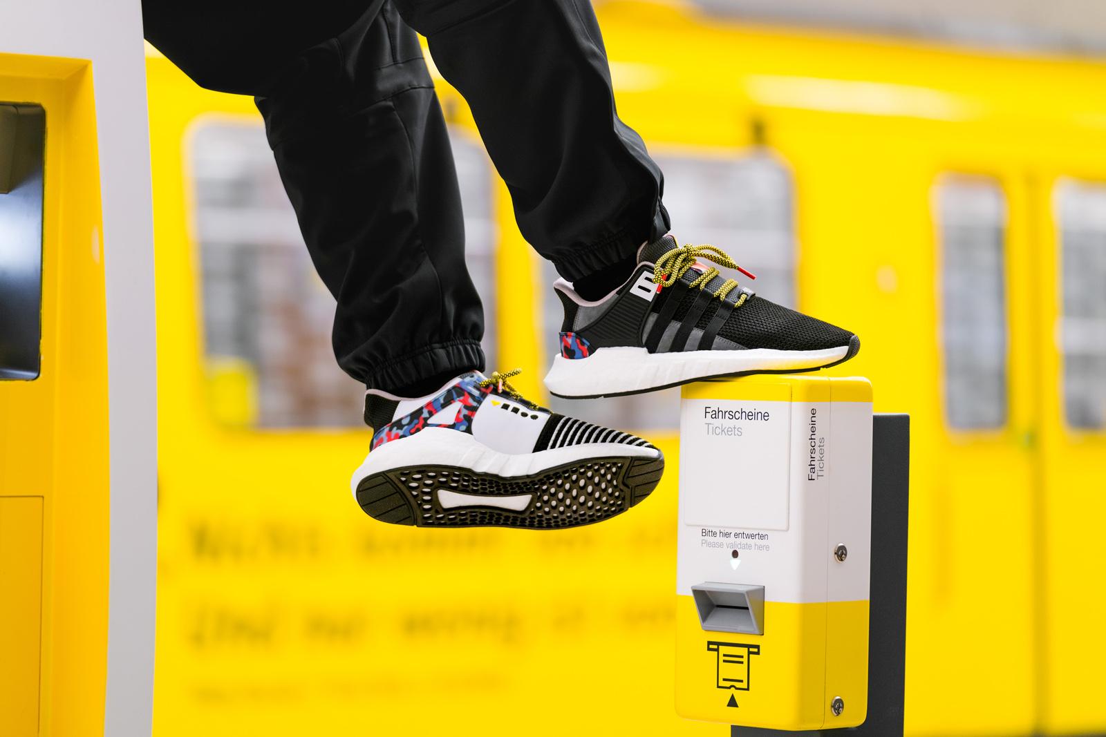 So Berlin: Adidas und BVG designen gemeinsam Sneaker