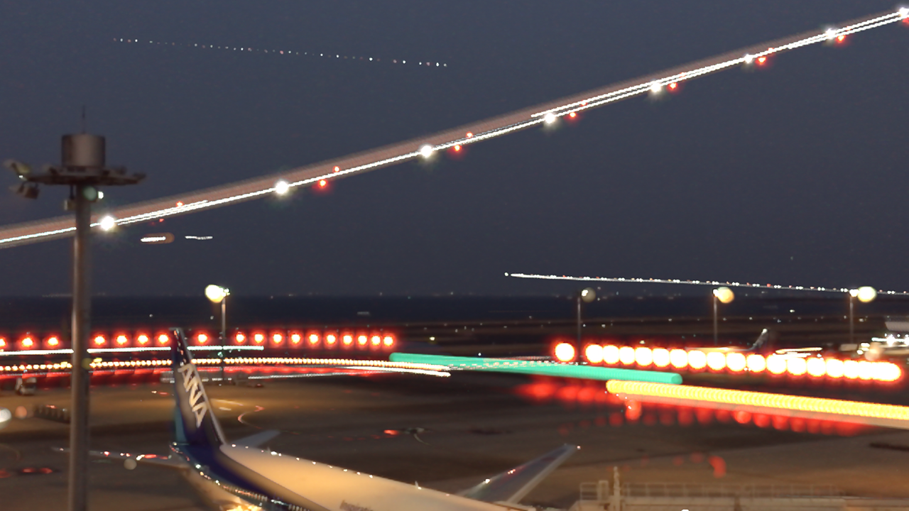 Slow Shutter Camで空港 その2