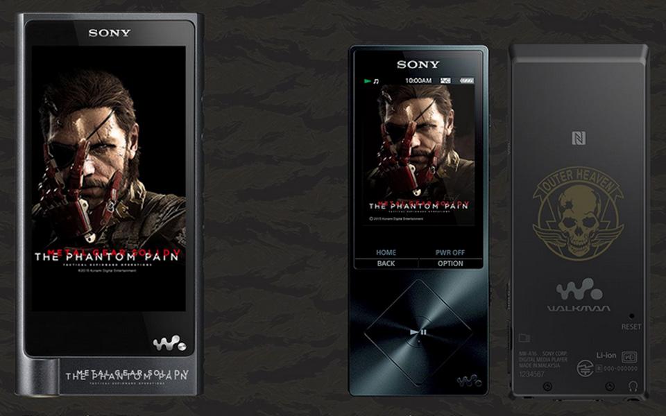 Sony's 'Metal Gear Solid V' edition Walkman players
