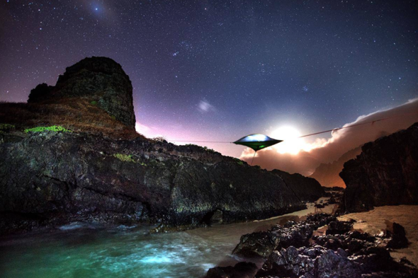 Introducing incredible floating UFO-style tents & Introducing incredible floating UFO-style tents - AOL UK Travel