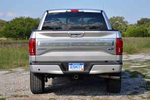 the aluminum used in the f 150 is nothing like the material in a dent prone coke can - 2015 Ford F 150 King Ranch Tailgate