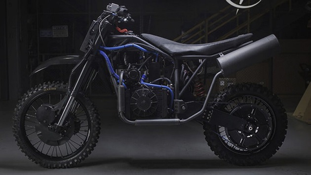 オリーブオイルでも走る!? デザイン・コンペで選ばれた米国特殊部隊用オートバイが公開