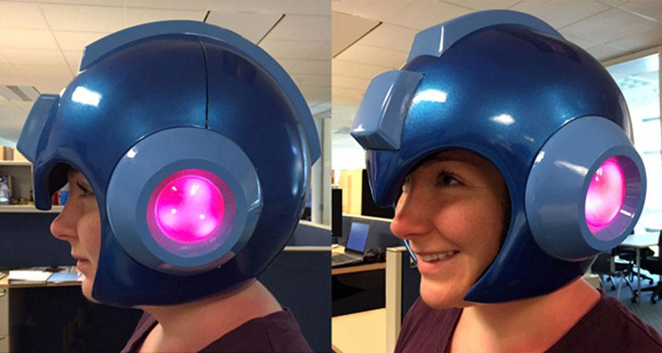 Capcom's 'Mega Man' helmet
