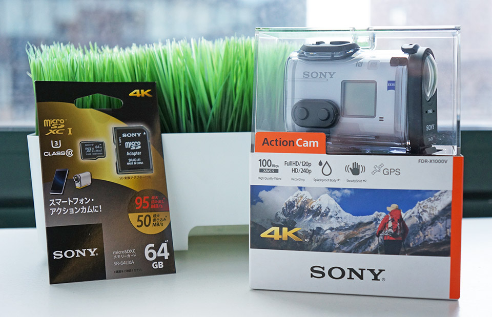 Engadget giveaway: win a 4K Action Cam courtesy of Sony!
