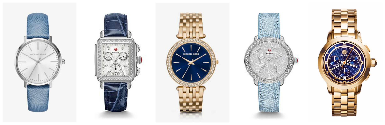 blue watch trend in fashion