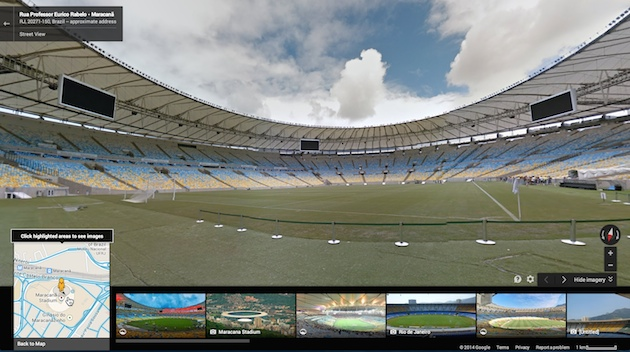 World Cup Street View