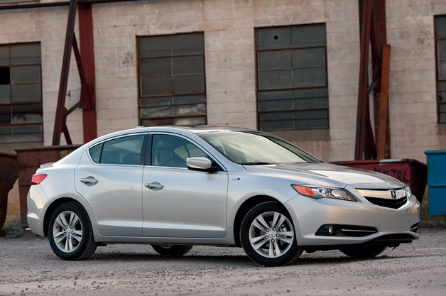 01 2013 Acura Ilx Hybrid Review