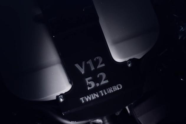 【ビデオ】アストンマーティン、新しい5.2リッターV12ツインターボ・エンジンのティーザー映像を公開