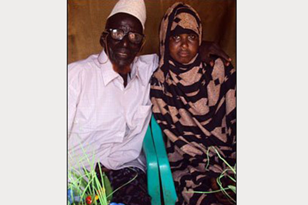 craziest relationship age gaps, ahmed muhamed dore safia abdulleh