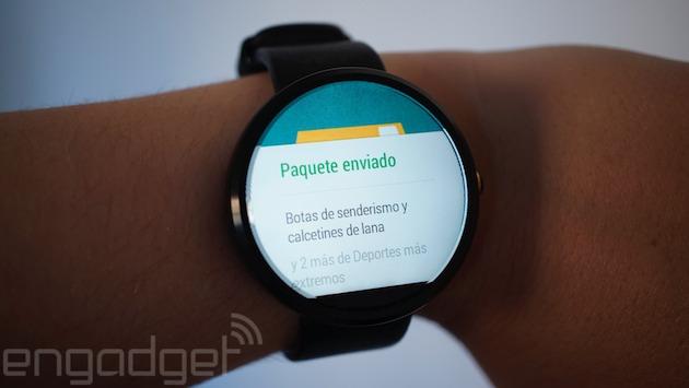 Ya puedes comprar en Amazon desde tu reloj con Android Wear