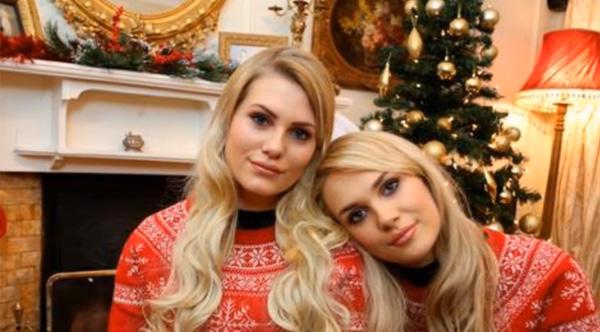 父親も区別つかないレベルwww 赤の他人なのに双子級に似すぎな美少女が話題に【動画】