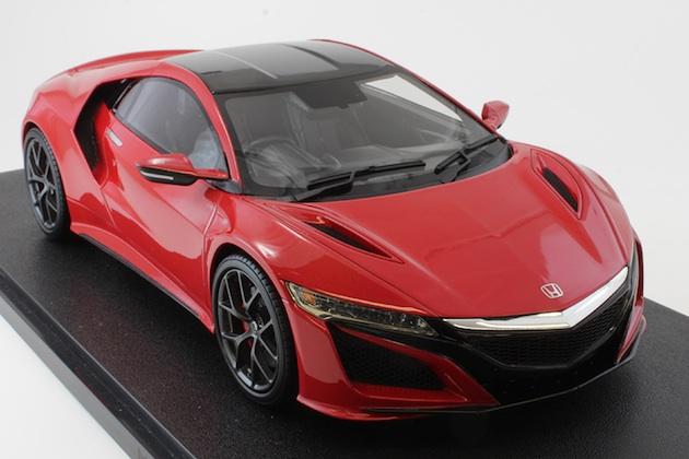 ホビージャパンから、ホンダの新型「NSX」を1/18スケールで再現したモデルカーが登場!