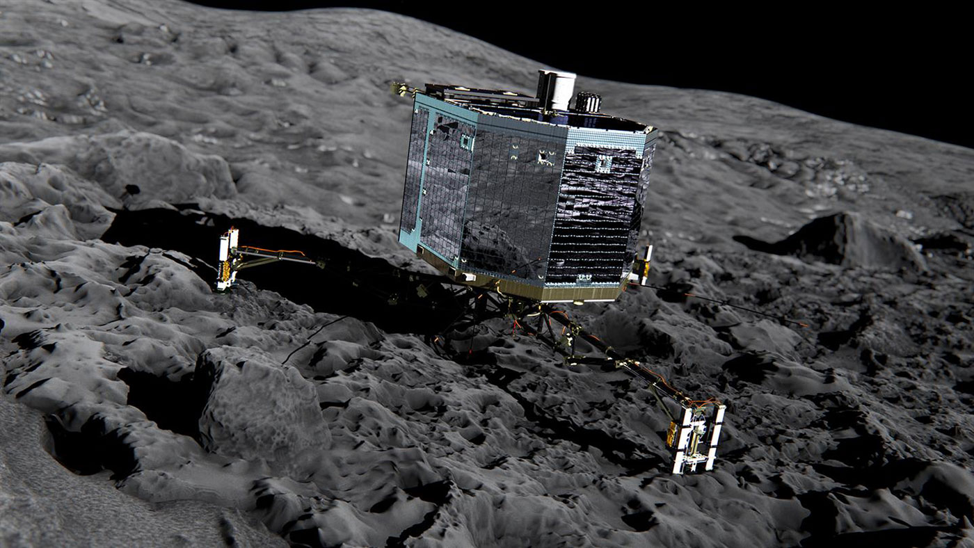 Philae mission team says goodbye to the comet lander