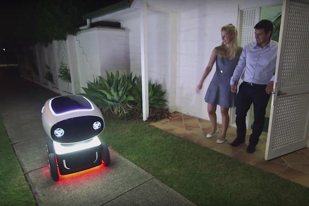 【ビデオ】ドミノ・ピザの宅配ロボット、豪州でまもなく運用開始