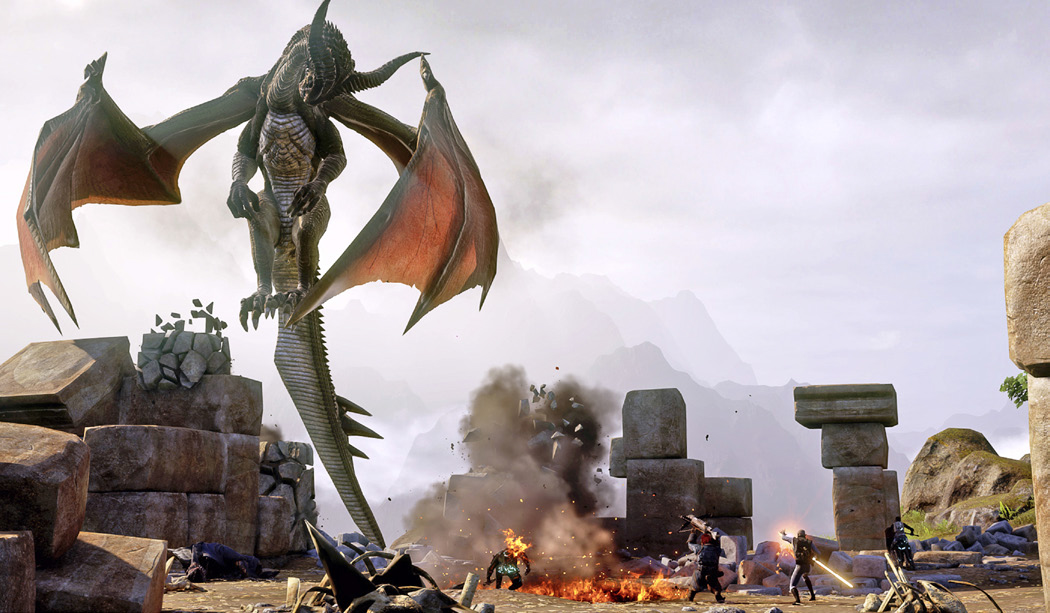 Here's how you kill a dragon in Dragon Age: Inquisition