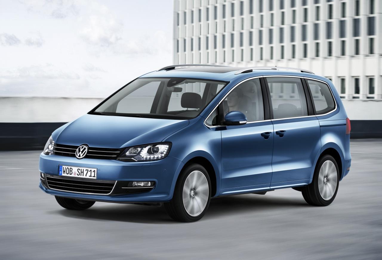 Premiere: Der neue VW sharan