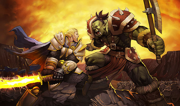 Who are the top 10 Warcraft characters?