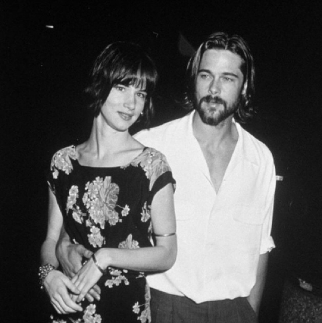 Juliette Lewis Instagrams throwback photo of her and Brad Pitt