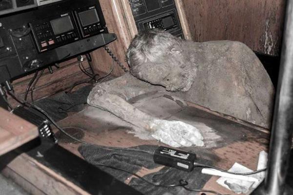 Mummified Adventurer Found At Sea