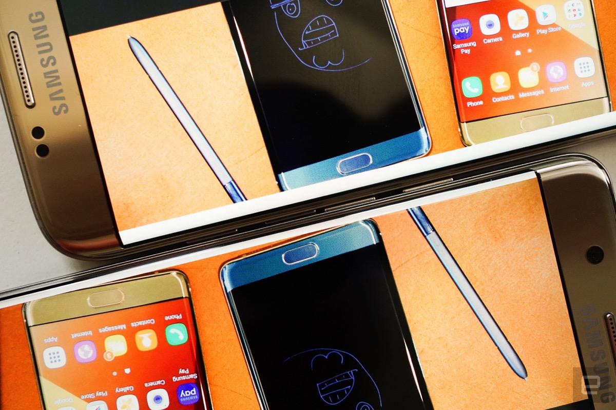 台版三星Galaxy Note7,台版三星Note7动手玩