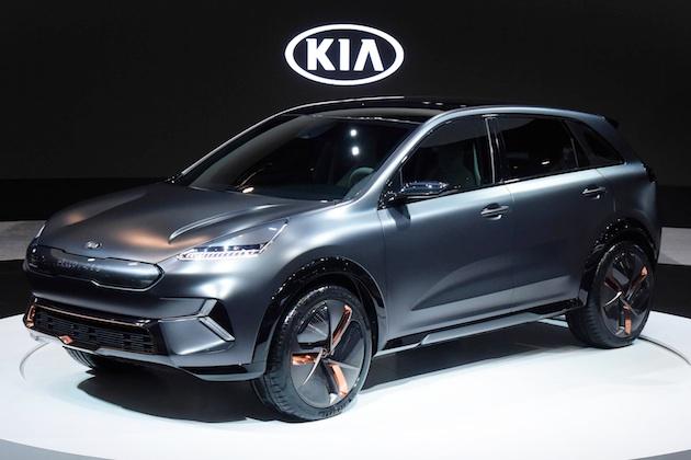 起亜がCESで発表した電気自動車のコンセプト「ニロ EV」は、シボレー「ボルト」を完全にライバル視
