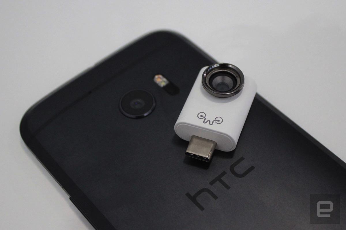 Eye-Plug 让你的手机也能有一双亮眼 - 新闻发布 - Chiphell