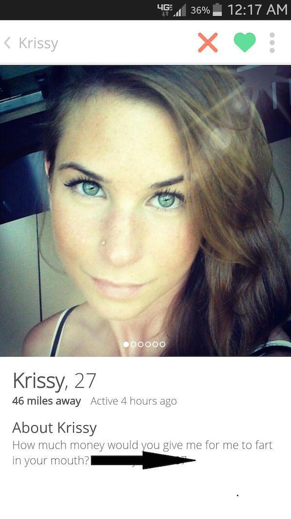 Profiles dirtiest tinder 33 Funny