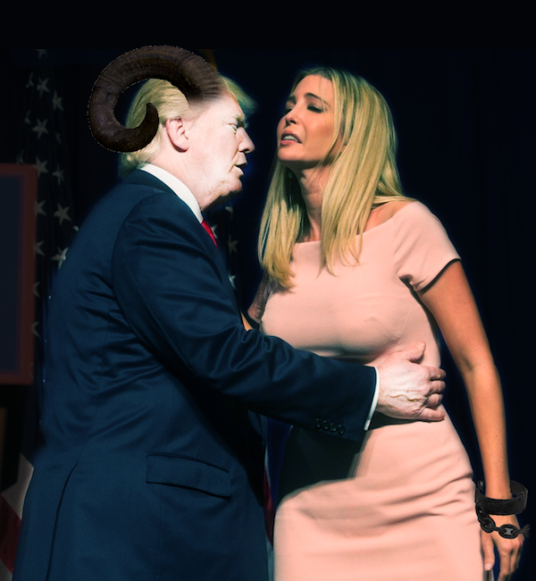 Super Uncomfortable Photo Of Donald Trump And Ivanka Was Deservedly Photoshopped