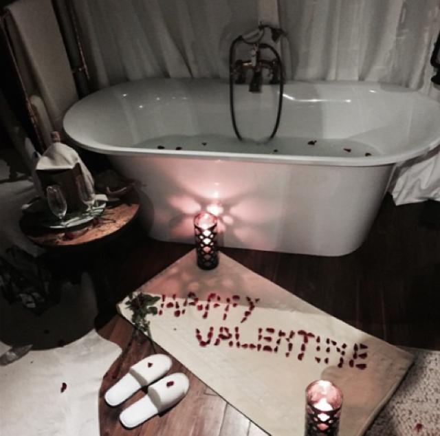 Cheryl Fernandez-Versini gets totally spoiled for Valentine's Day