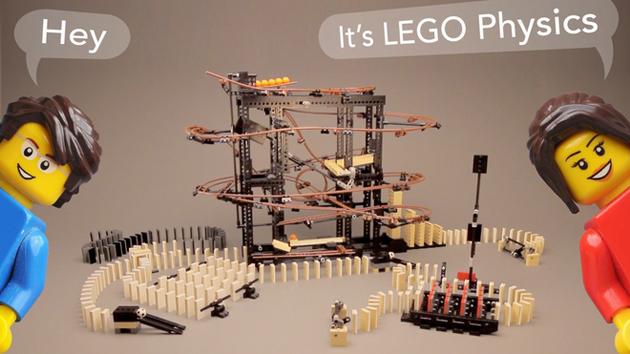 Lego Physics: Der Bausatz für vorsätzlichen Rube-Goldberg/Domino-Wahnsinn (Video)