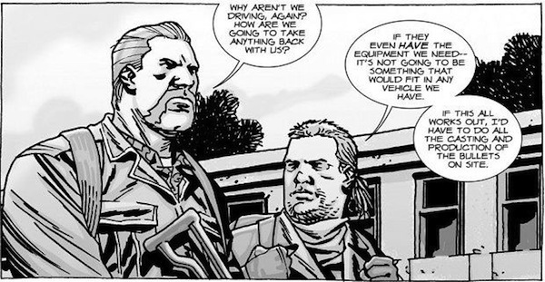 walking dead characters better in the comics, walking dead television comic comparison, eugene porter