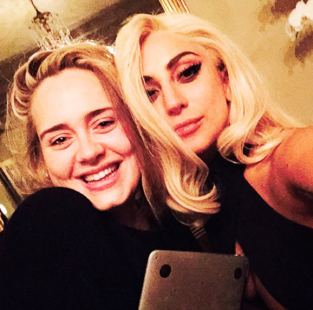 Lady Gaga and Adele working on song together
