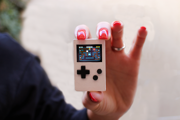Pocketstar: Micro-Handheld im GameBoy-Design