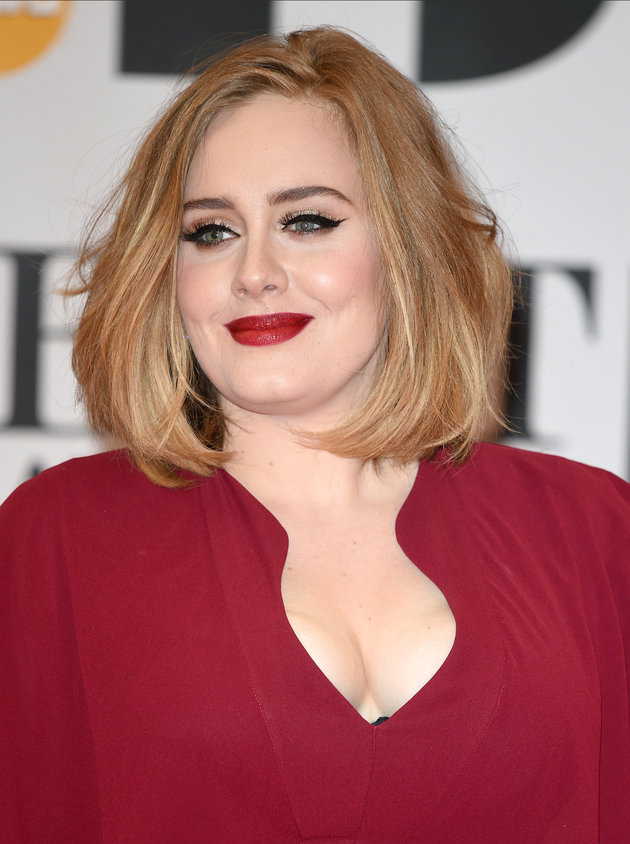 LONDON, ENGLAND - FEBRUARY 24:  Adele attends the BRIT Awards 2016 at The O2 Arena on February 24, 2016 in London, England.  (Photo by Karwai Tang/WireImage)