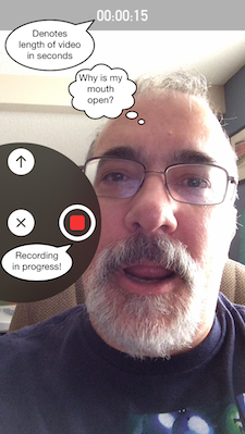 Video messages in iOS 8